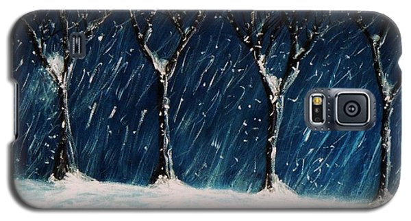 Winter's Snow Galaxy S5 Case by John Scates