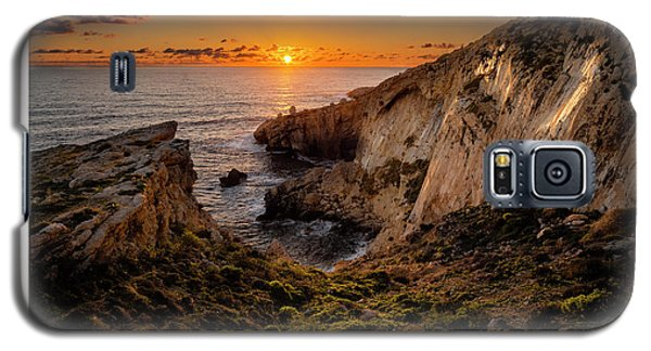 Winter's Sunset Galaxy S5 Case