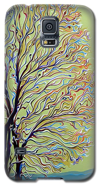Wintertainment Tree Galaxy S5 Case