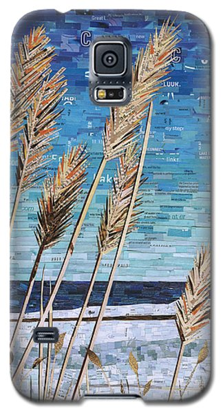 Wintertime On Lake Erie Galaxy S5 Case by Shawna Rowe