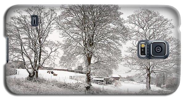 Wintery Scene Galaxy S5 Case