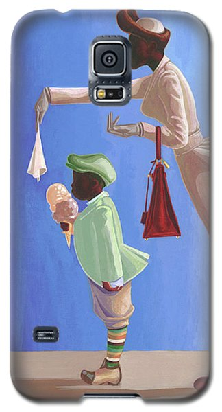 Wipe Your Mouth Boy Galaxy S5 Case