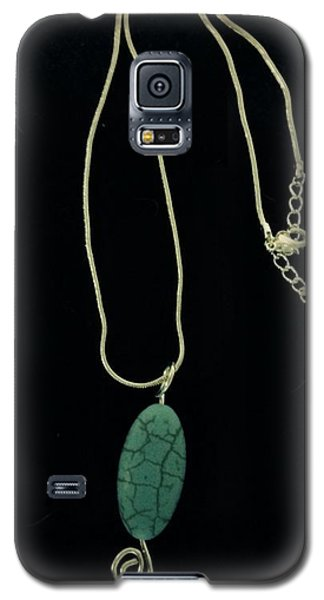 Galaxy S5 Case featuring the jewelry Wire Wrapped Pendant by J Cheyenne Howell