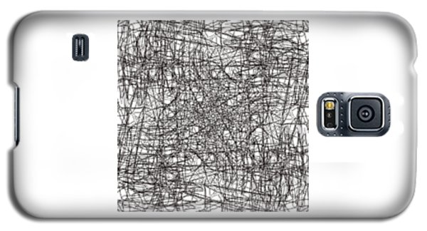 Galaxy S5 Case featuring the digital art Wired Abstraction by Eleonora Perlic