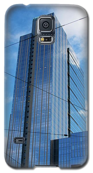 Galaxy S5 Case featuring the photograph Wired In Seattle - Skyscraper Art Print by Jane Eleanor Nicholas