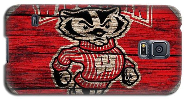 Wisconsin Badgers Barn Door Galaxy S5 Case