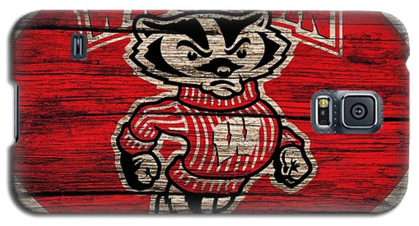 Wisconsin Badgers Barn Door Galaxy S5 Case
