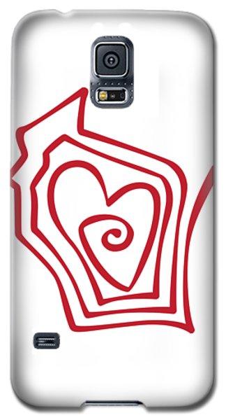 Wisconsin Drawn Galaxy S5 Case