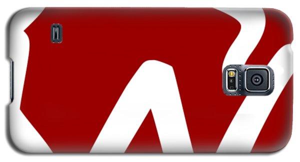 Wisconsin W Galaxy S5 Case
