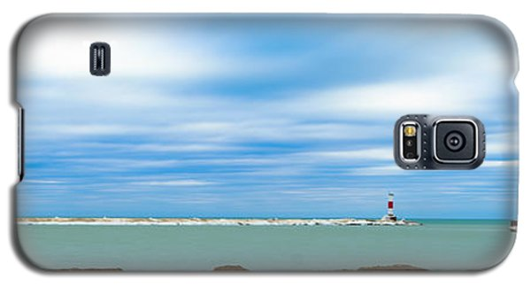 Wisconsin Winter Lakefront Galaxy S5 Case