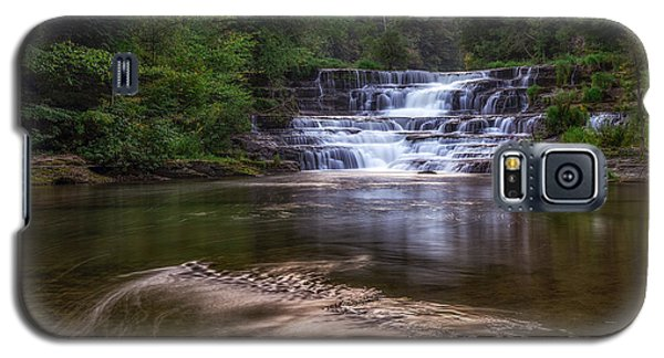 Galaxy S5 Case featuring the photograph Wiscoy Falls by Mark Papke