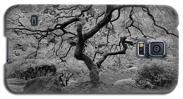 Galaxy S5 Case featuring the photograph Wisdom Bw by Jonathan Davison