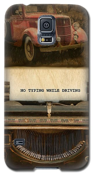 Galaxy S5 Case featuring the photograph Wisdom by Robin-Lee Vieira