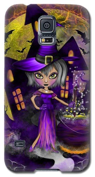 Wisdom Witch Fantasy Art Galaxy S5 Case