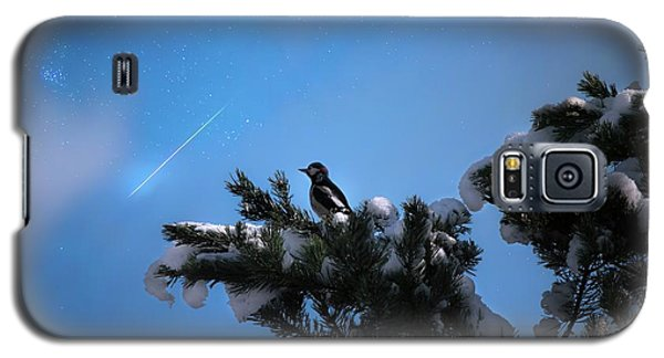 Wish Upon A Shooting Star Galaxy S5 Case by Rose-Marie Karlsen
