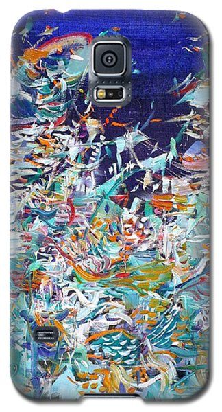 Galaxy S5 Case featuring the painting Wishes by Fabrizio Cassetta