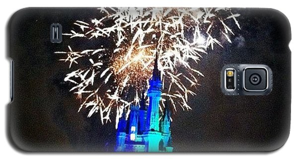Wishes Fireworks Show Galaxy S5 Case by Lea Ward