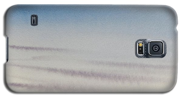 Wisps Of Clouds At Sunset Over A Calm Bay Galaxy S5 Case