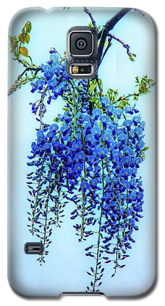 Galaxy S5 Case featuring the photograph Wisteria by Chris Lord