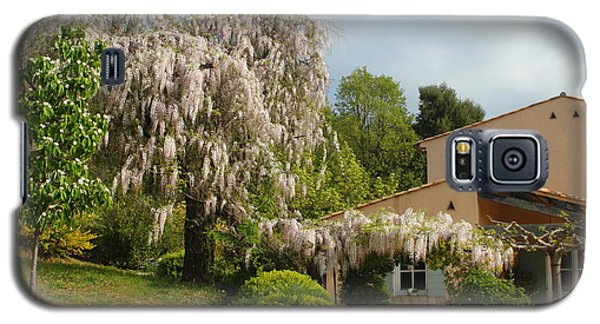 Galaxy S5 Case featuring the photograph Wisteria by Richard Patmore