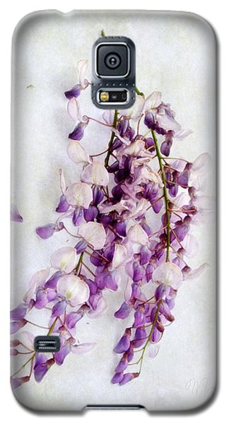 Wisteria Still Life Galaxy S5 Case by Louise Kumpf
