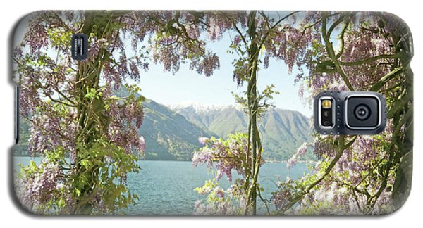 Wisteria Trellis Lago Di Como Galaxy S5 Case