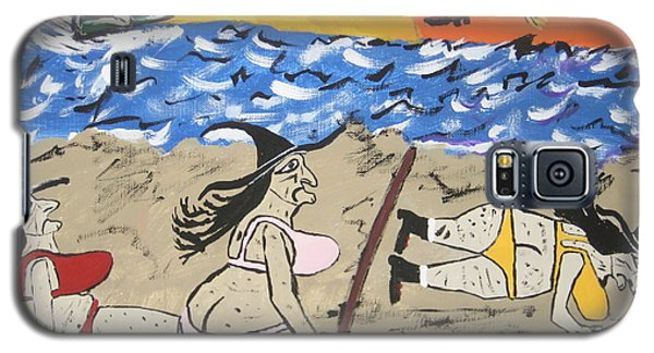Witches Day At The Beach Galaxy S5 Case