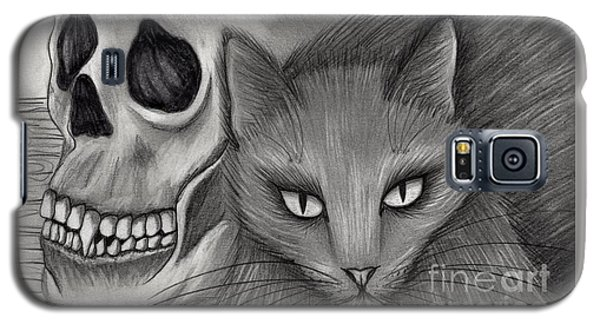Witch's Cat Eyes Galaxy S5 Case by Carrie Hawks