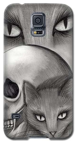 Witch's Cat Eyes Galaxy S5 Case