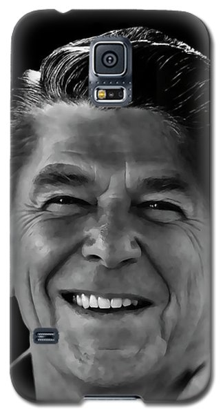 Galaxy S5 Case featuring the mixed media With A Glint In His Eye ..... by Daniel Hagerman