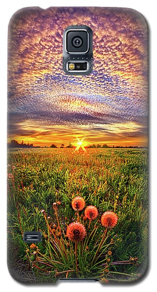 Galaxy S5 Case featuring the photograph With Gratitude by Phil Koch