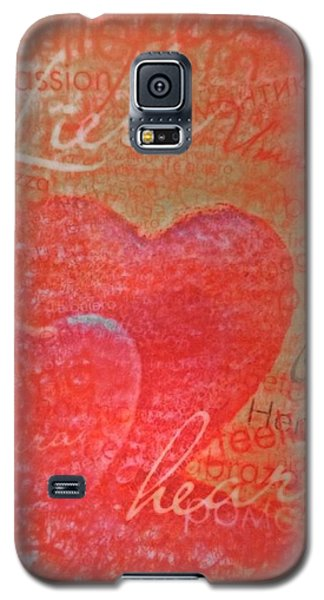 With Heart Galaxy S5 Case
