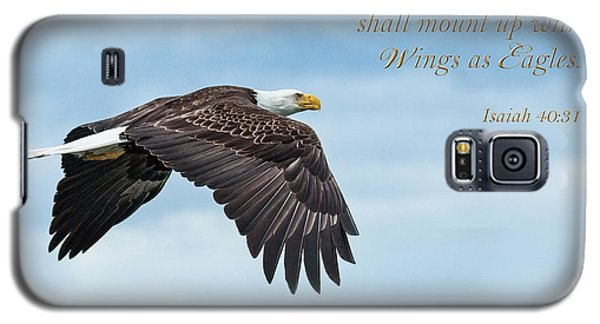 With Wings As Eagles Galaxy S5 Case