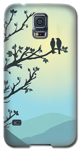 Galaxy S5 Case featuring the digital art With You By My Side by Christina Lihani