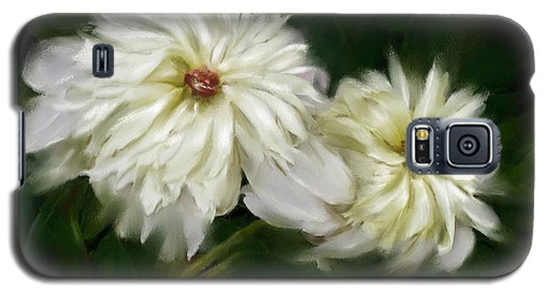Galaxy S5 Case featuring the painting Withering Peony by Bonnie Willis
