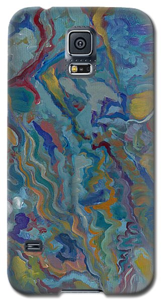 Galaxy S5 Case featuring the painting Without Limitations by John Keaton