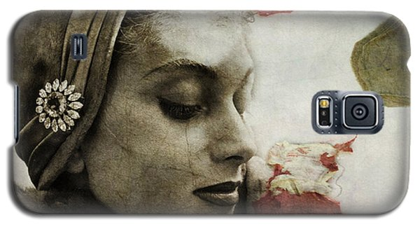 Galaxy S5 Case featuring the mixed media Without You  by Paul Lovering