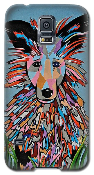 Galaxy S5 Case featuring the painting Wiz by Kathleen Sartoris