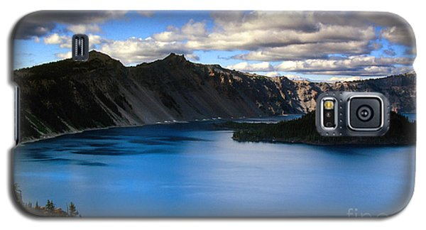 Wizard Island Stormy Sky- Crater Lake Galaxy S5 Case
