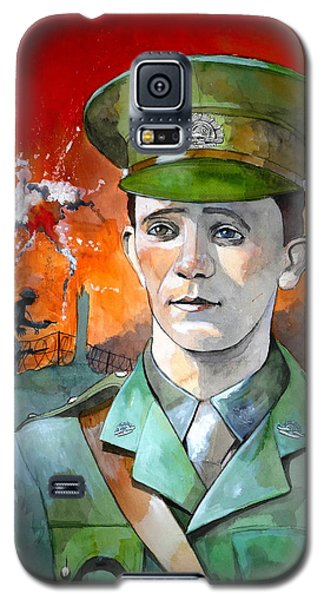 Galaxy S5 Case featuring the painting W.j. Symons Vc by Ray Agius