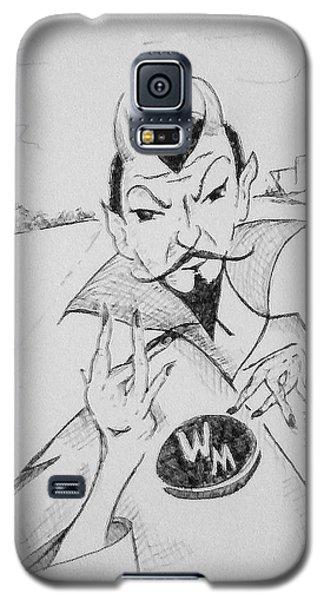 Wm Blue Devils Sign Galaxy S5 Case