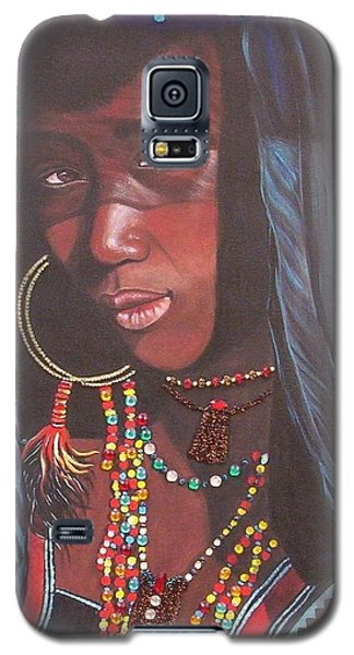 Wodaabe Girl Galaxy S5 Case