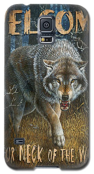 Wold Neck Of The Woods Galaxy S5 Case by JQ Licensing