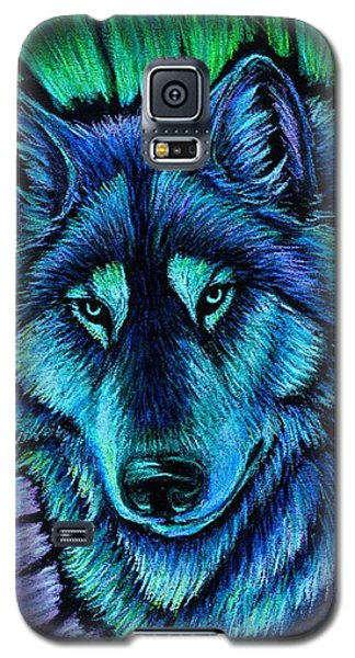 Wolf Aurora Galaxy S5 Case