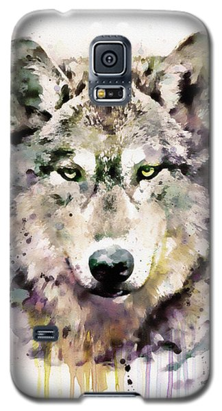 Wolf Head Galaxy S5 Case by Marian Voicu