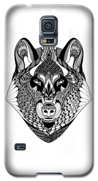 Wolf Galaxy S5 Case by Jan Steinle