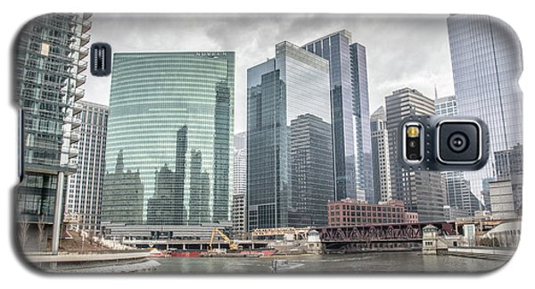 Wolf Point Where The Chicago River Splits Galaxy S5 Case