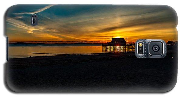 Wollaston Beach Sunrise 3 Galaxy S5 Case