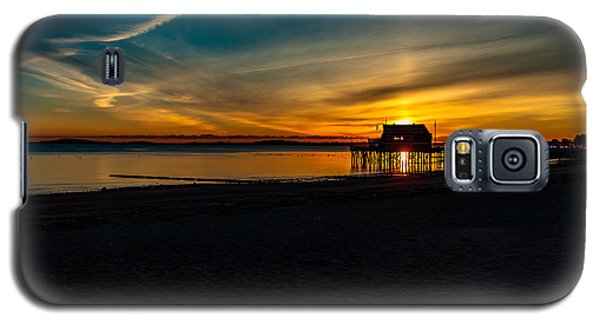 Wollaston Beach Sunrise 3 Galaxy S5 Case