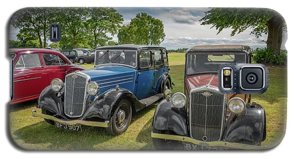 Galaxy S5 Case featuring the photograph Wolseley Motors by Adrian Evans